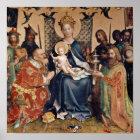Adoration of the Magi altarpiece Poster