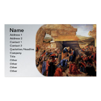 Adoration of the Magi - Botticelli Business Cards