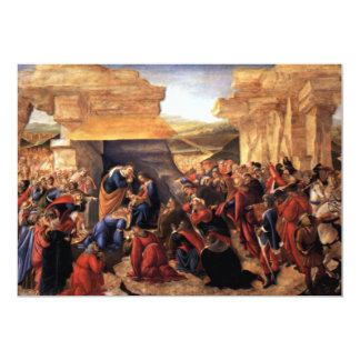 Adoration of the Magi - Botticelli Invites