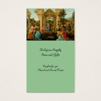 Adoration of the Magi Business Card