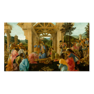 Adoration of the Magi Double-Sided Standard Business Cards (Pack Of 100)