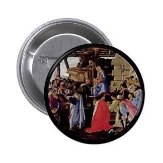 Adoration of the Magi Button