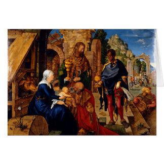 Adoration of the Magi by Albrecht Dürer, 1504AD Card
