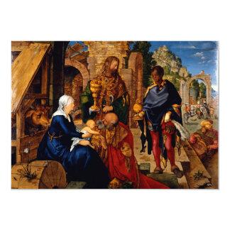Adoration of the Magi by Albrecht Durer Card