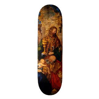 Adoration of the Magi by Albrecht Durer Skate Board