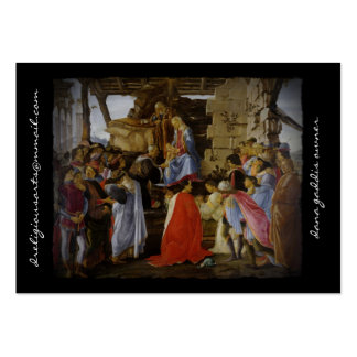 Adoration of the Magi by Botticelli Business Cards