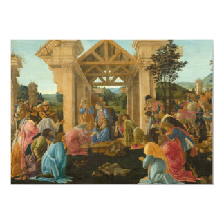Adoration of the Magi by Botticelli Card