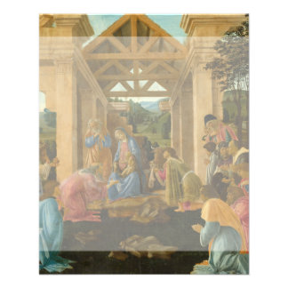 Adoration of the Magi by Botticelli Personalized Flyer