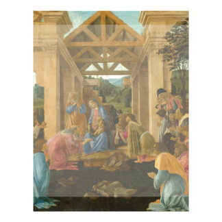 Adoration of the Magi by Botticelli Full Color Flyer