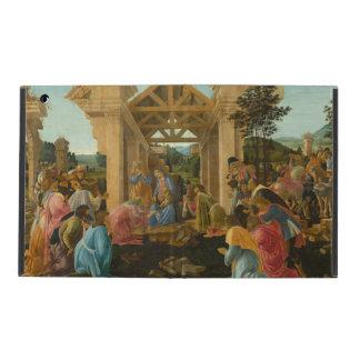 Adoration of the Magi by Botticelli iPad Folio Cases