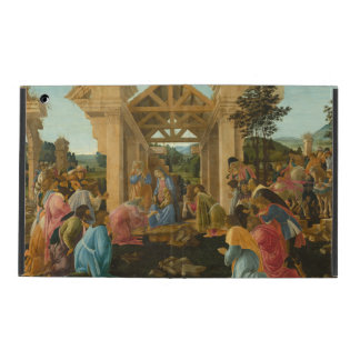 Adoration of the Magi by Botticelli iPad Cover