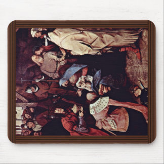 Adoration Of The Magi,  By Bruegel D. Ä. Pieter Mouse Pad