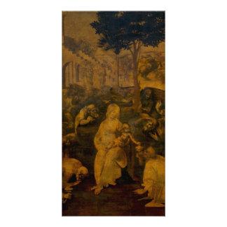 Adoration of the Magi by Leonardo da Vinci Card