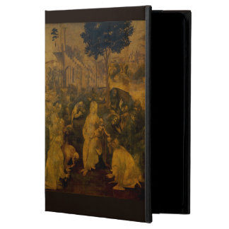 Adoration of the Magi by Leonardo da Vinci iPad Air Covers
