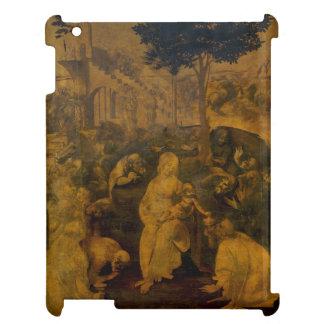 Adoration of the Magi by Leonardo da Vinci iPad Covers