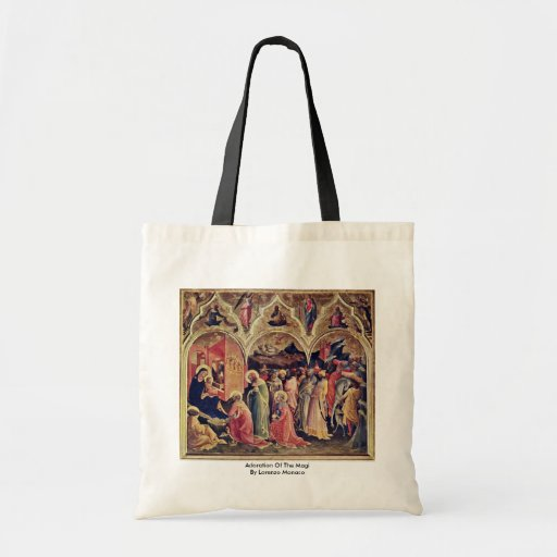 Adoration Of The Magi By Lorenzo Monaco Budget Tote Bag