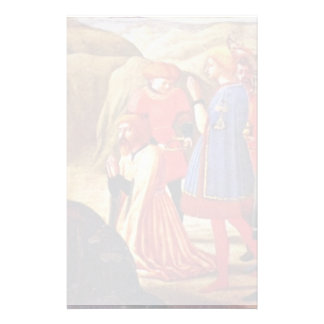 Adoration Of The Magi By Masaccio (Best Quality) Stationery