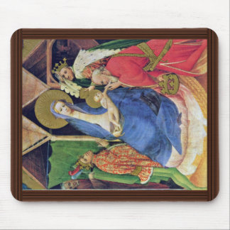 Adoration Of The Magi By Meister Der Goldenen Tafe Mouse Pad
