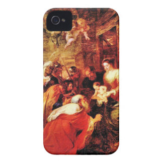 Adoration of the Magi by Paul Rubens iPhone 4 Cases