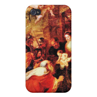 Adoration of the Magi by Paul Rubens Cover For iPhone 4