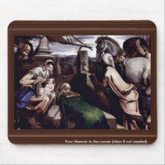 Adoration Of The Magi By Ponte Jacopo Da (Best Qua Mouse Pad