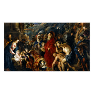 Adoration of the Magi by Rubens Business Card