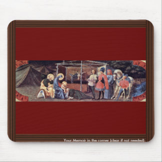 Adoration Of The Magi By Uccello Paolo Mouse Pad