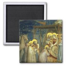 Adoration of the Magi, c.1305 Magnet