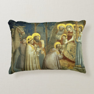 Adoration of the Magi, c.1305 Accent Pillow