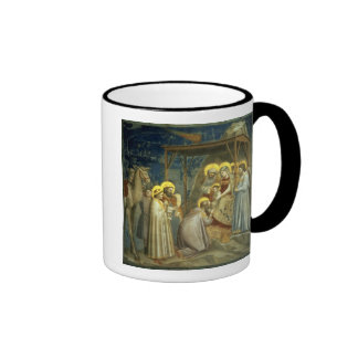 Adoration of the Magi, c.1305 Ringer Coffee Mug