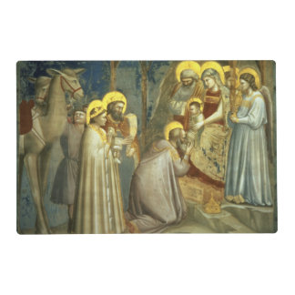 Adoration of the Magi, c.1305 Laminated Place Mat
