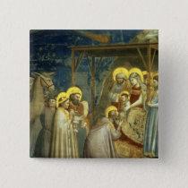 Adoration of the Magi, c.1305 Pinback Button