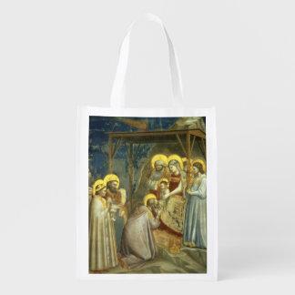 Adoration of the Magi, c.1305 Reusable Grocery Bag