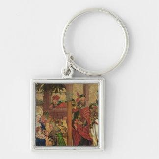 Adoration of the Magi, c.1475 Keychain
