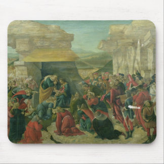 Adoration of the Magi, c.1480 (tempera on panel) ( Mouse Pad