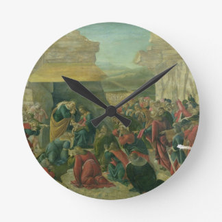 Adoration of the Magi, c.1480 (tempera on panel) ( Round Clock