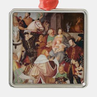 Adoration of the Magi, c.1532-35 Metal Ornament