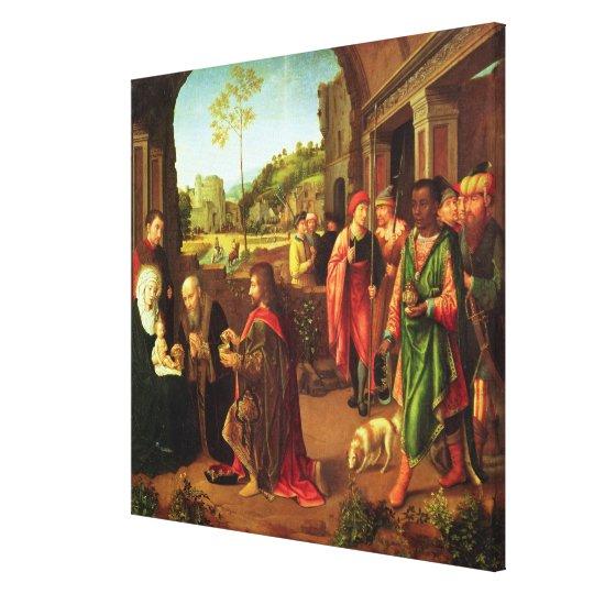 Adoration of the Magi Canvas Print
