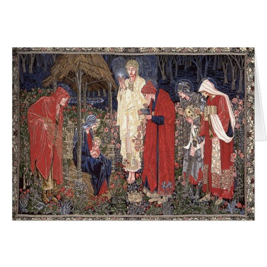 Adoration of the Magi Card
