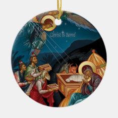 Adoration Of The Magi Christmas Ornament at Zazzle