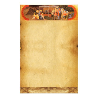 ADORATION OF THE MAGI CHRISTMAS PARCHMENT STATIONERY