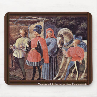 Adoration Of The Magi Detail By Uccello Paolo Mouse Pad