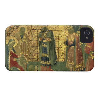 Adoration of the Magi, detail from a predella pane iPhone 4 Case-Mate Case