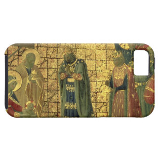 Adoration of the Magi, detail from a predella pane iPhone SE/5/5s Case