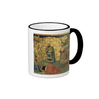 Adoration of the Magi, detail from a predella pane Ringer Mug