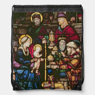 Adoration of the Magi Drawstring Bag