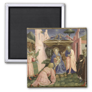Adoration of the Magi, from the predella Magnet