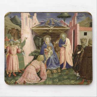Adoration of the Magi, from the predella Mouse Pad