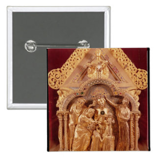 Adoration of the Magi, gabled end Pin
