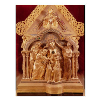 Adoration of the Magi, gabled end Postcard